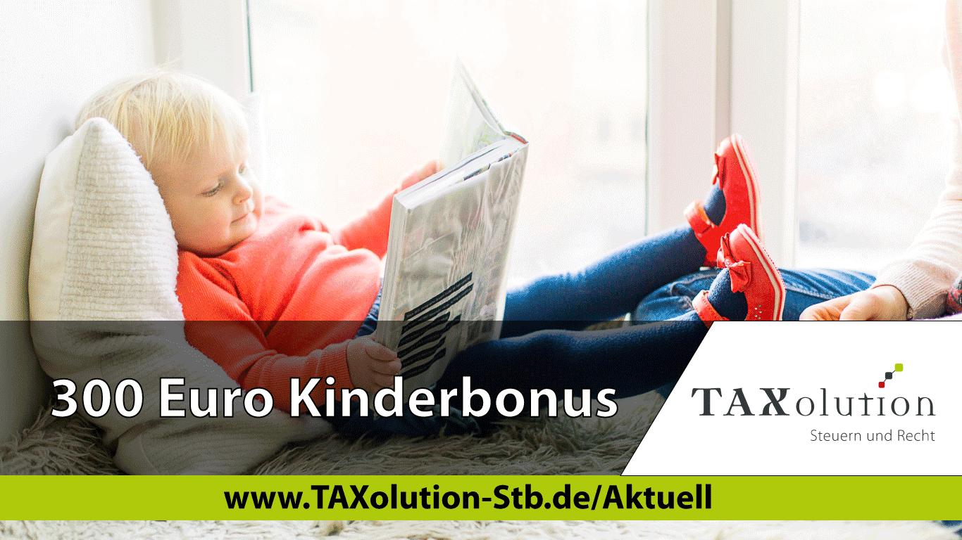 Kinder Bonus 300 Euro