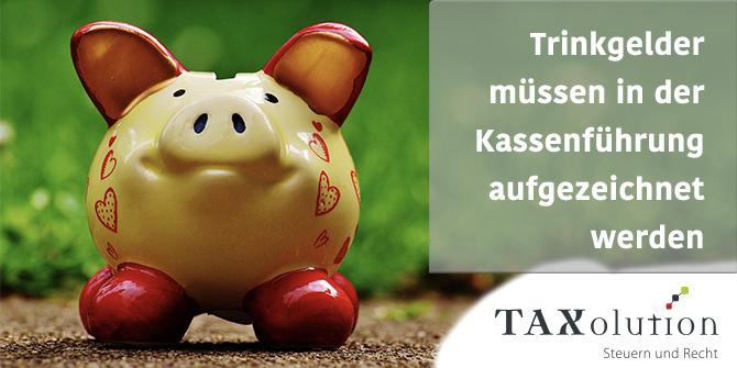 Trinkgeld Steuerpflichtig